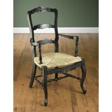 Dianne Black French Arm Chair by August Grove®