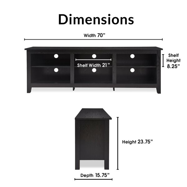 Dunsmuir TV Stand for TVs up to 78""