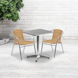 Cates 3 Piece Bistro Set