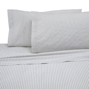 martex 225thread count sheet set in ticking stripe - Striped Sheets