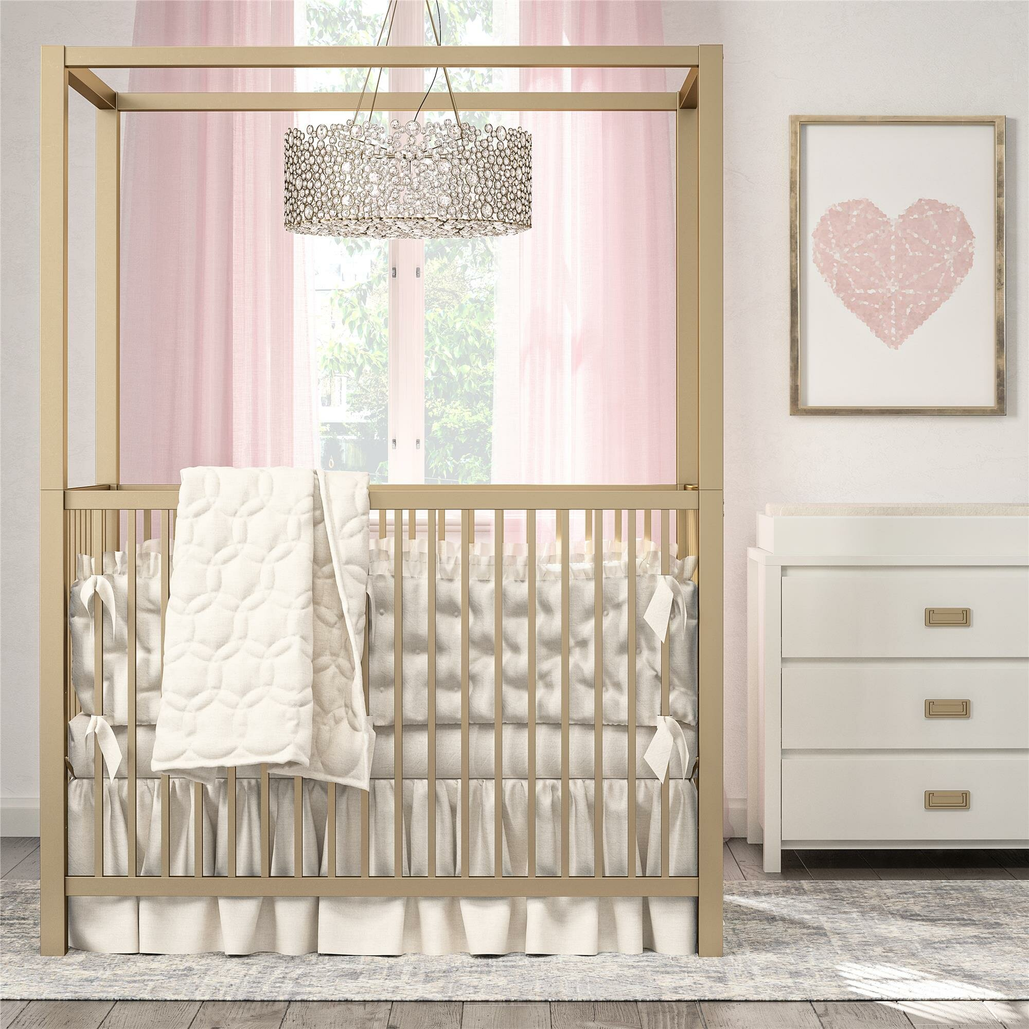 Outstanding Monarch Hill Haven Canopy Crib Download Free Architecture Designs Embacsunscenecom