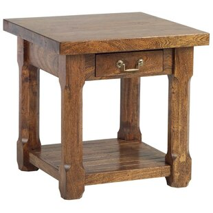 Affordable Price Cheyenne End Table By Loon Peak