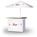 Wodome Valentines Simple Love 2-Piece Home Bar Set
