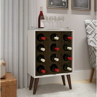 George Oliver Ferrin 12 Bottle Mini Bar