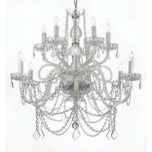 Astoria Grand Linscott Swarovski 12-Light..