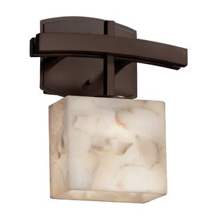 Conovan Melete 1-Light LED Armed Sconce by Rosecliff Heights