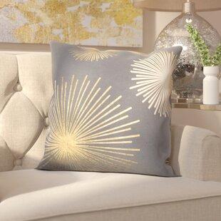 Beadling Cotton Throw Pillow