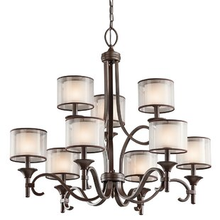 Darby Home Co Boswell 9-Light Shaded Chandelier