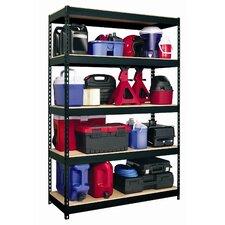 Horse Rivet 72 H 4 Shelf Shelving Unit Starter by CommClad