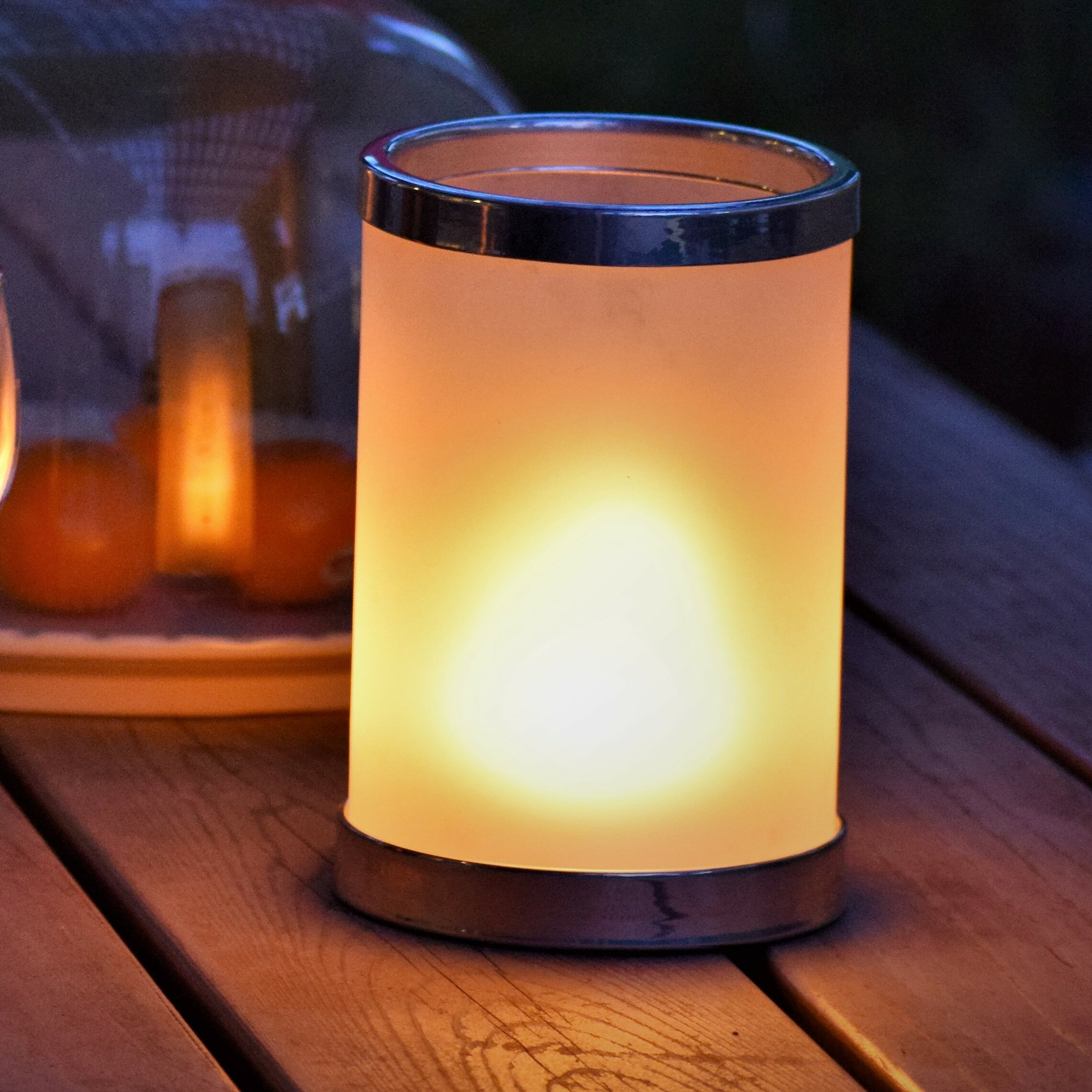 Hoogalife 7 8 Battery Powered Led Outdoor Table Lamp Reviews