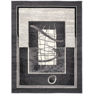 Wren Dark Grey Rug by Longweave
