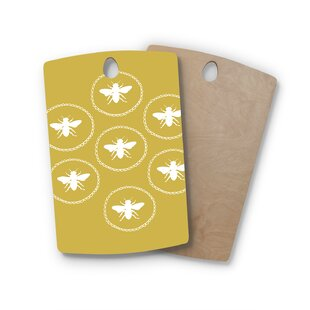 Jennifer Rizzo Birchwood Busy As A Bee Maise Nature Cutting Board ByEast Urban Home