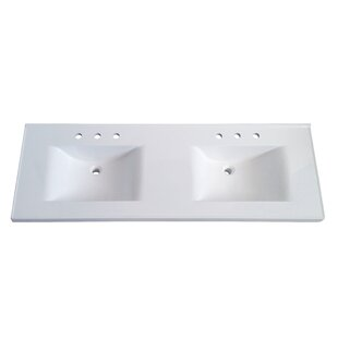 Price comparison Premier 61 Double Bathroom Vanity Top By Sagehill Designs