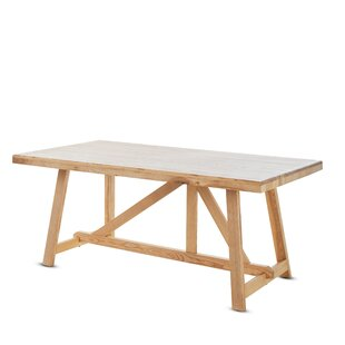 Gracie Oaks Pietsch Wood Dining Table