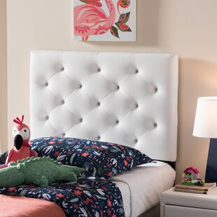 Comparison Lindeman Twin Upholstered Panel Headboard by Harriet Bee