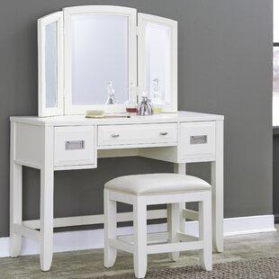 Mercury Row Darrow Vanity Set with Mirror