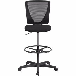 Low priced Katy 18.5 Mid-Back Mesh Drafting Chair by Ebern Designs Reviews (2019) & Buyer's Guide