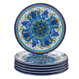 Filion Melamine Salad Plate (Set of 6)