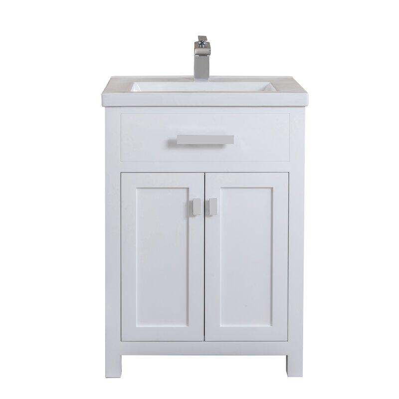 Zipcode Design Knighten 24 Quot Single Bathroom Vanity Set