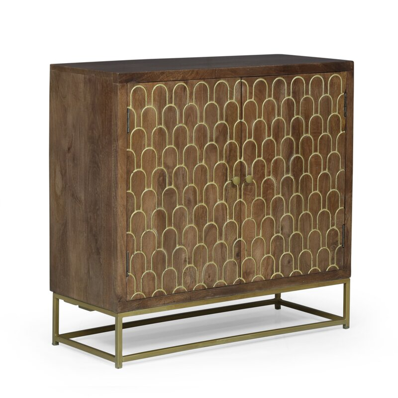 2 Door Accent Cabinet by Everly Quinn