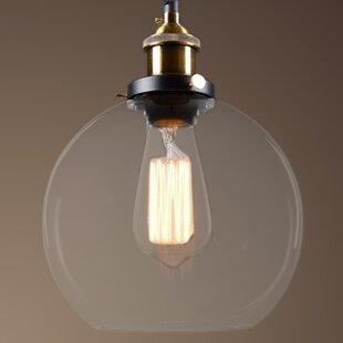 Warehouse of Tiffany Maisie 1-Light Globe Pendant