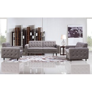 Big Save Benjamin 3 Piece Living Room Set by DG Casa Reviews (2019) & Buyer's Guide