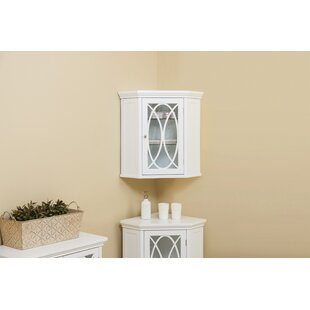 Bourbon 24.75 W x 24.5 H Wall Mounted Cabinet by Elegant Home Fashions