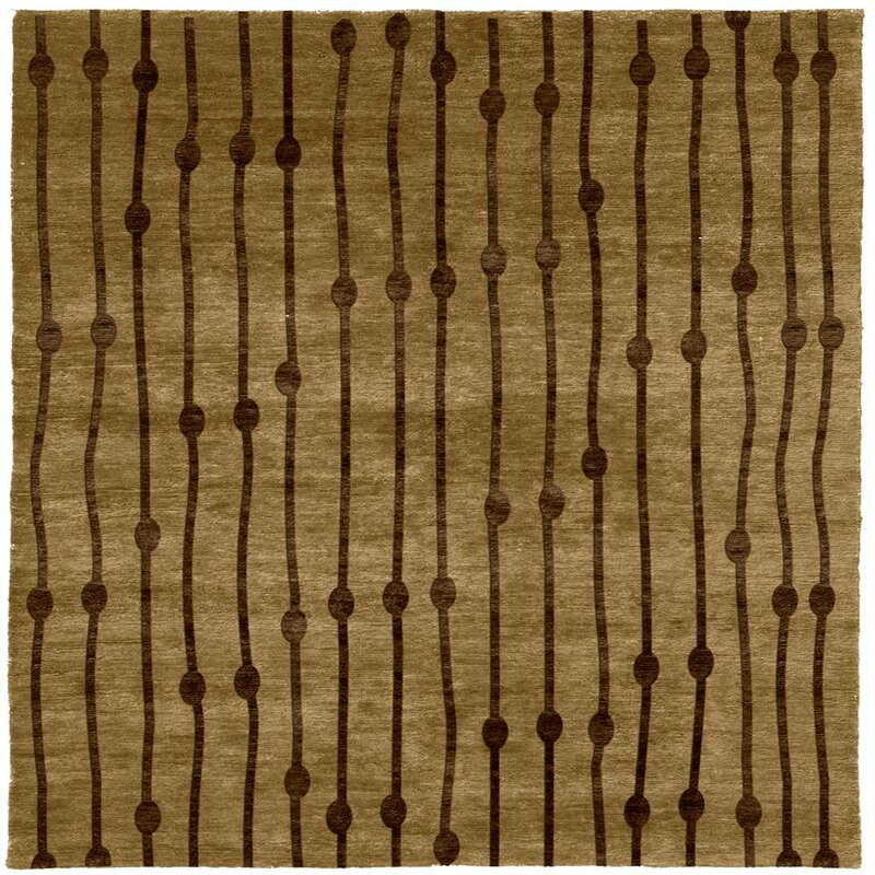 Perth Hand Knotted Tibetan Brown