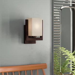 Mcmiller 1-Light Armed Sconce by Ebern Designs