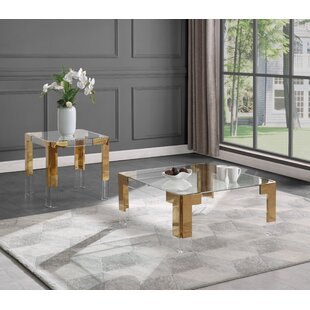Stoll 2 Piece Coffee Table Set
