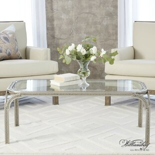 Forged Pearl Coffee Table with Tray Top