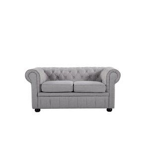 Shop Mikkelson Chesterfield Loveseat by Alcott Hill
