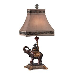 Hinderliter Monkey on Elephant Accent 23.5 Table Lamp