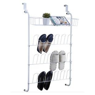 Compare prices OnDisplay 4-Tier 9 Pair Overdoor Shoe Organizer ByVandue Corporation