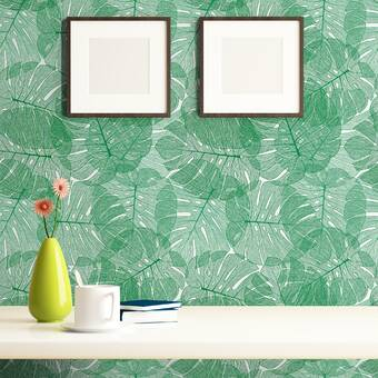 Wrought Studio Lefebvre Geometric Pastel 48 L X 24 W Paintable Peel And Stick Wallpaper Panel Wayfair