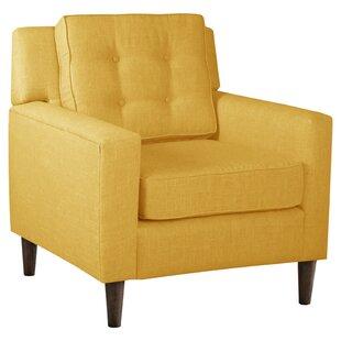 Alexandra Tufted Armchair by Skyline Furniture