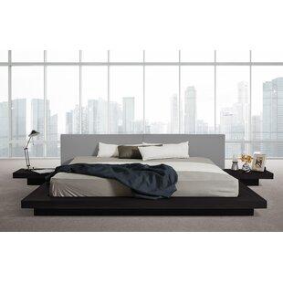Wade Logan Carter Upholstered Platform Bed