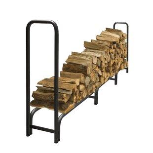 Outdoor Steel Log Rack By Pleasant Hearth