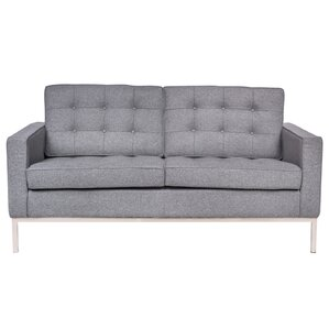 LeisureMod Lorane Loveseat Image