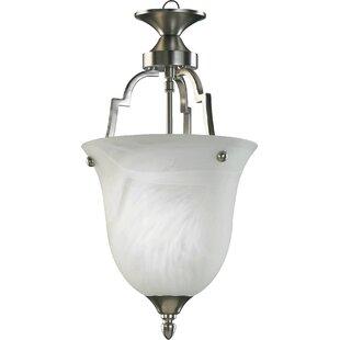 Hertz 1-Light Urn Pendant by Charlton Home
