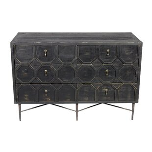 Yulin 6 Drawer Double Dresser