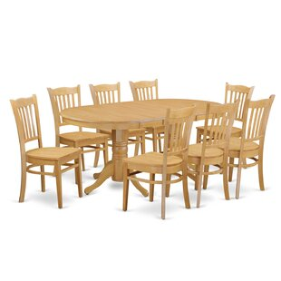 Rockdale 9 Piece Dining Set by DarHome Co Comparisont