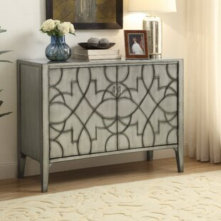 Wilkerson Wooden 2 Door Accent Cabinet by Ophelia & Co.