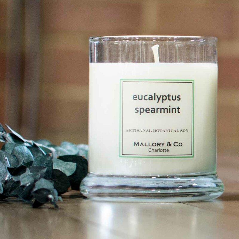 Mallorycandleco Eucalyptus Spearmint Scented Jar Candle Wayfair
