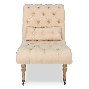 Sarreid Ltd Boudoir Slipper Chair (Set of 2)