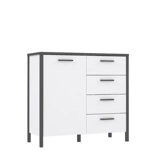 Cresthaven 4 Drawer Combi Chest By Ebern Designs