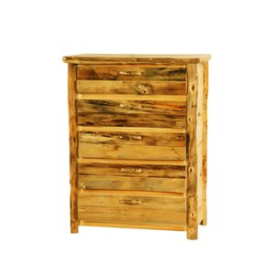 Rustic Arts? 4 Drawer Standard Chest by Mountain Woods Furniture
