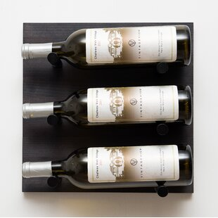 Low Priced Vintageview 3 Bottle Wall Mounted Wine Rack Great Offer