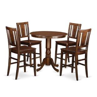 Jackson 5 Piece Counter Height Pub Table Set