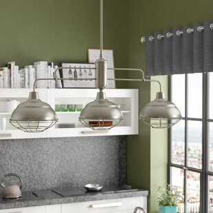 Trent Austin Design Dunson 3-Light Kitchen Island Pendant